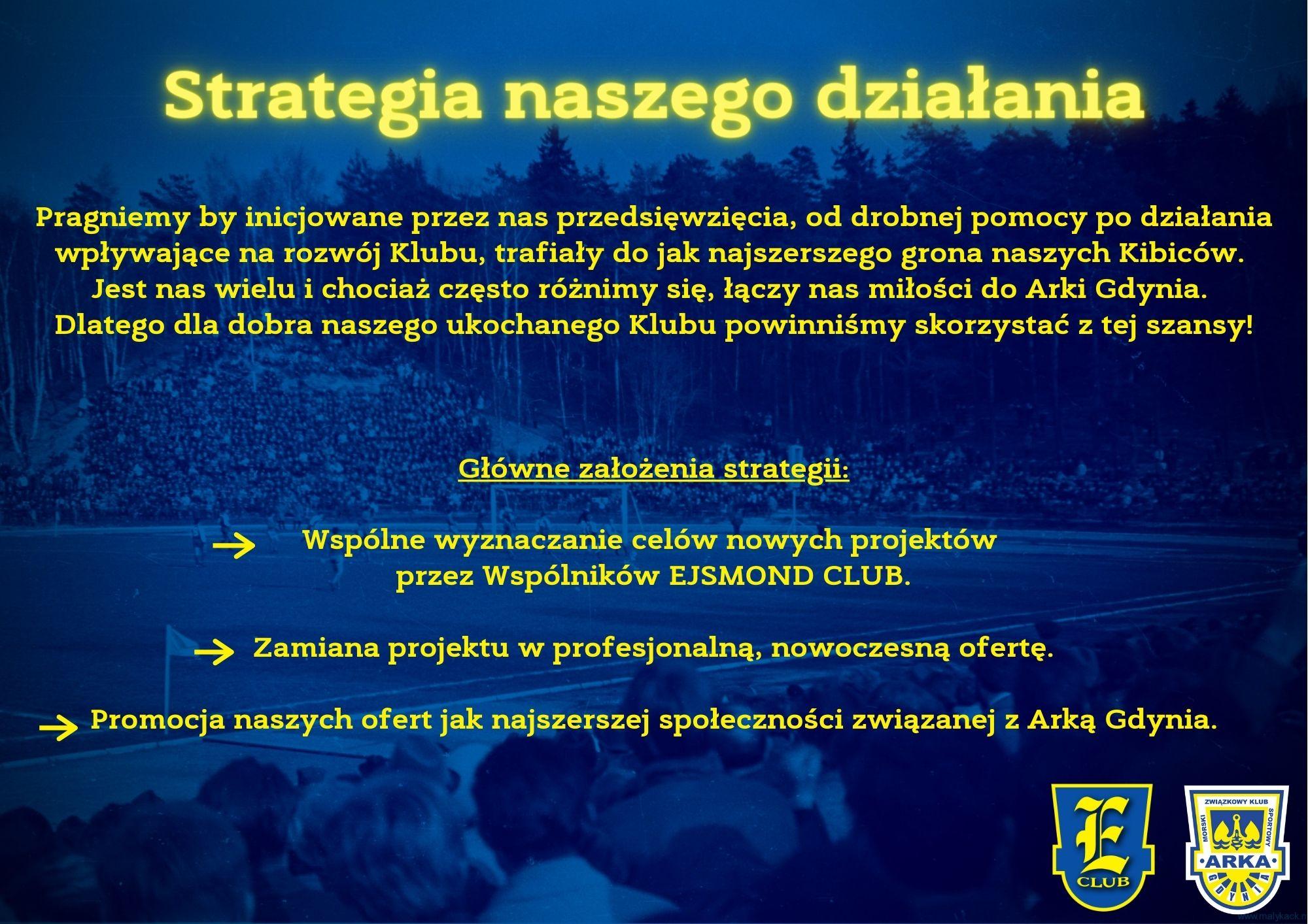 Strategia EJSMOND CLUB