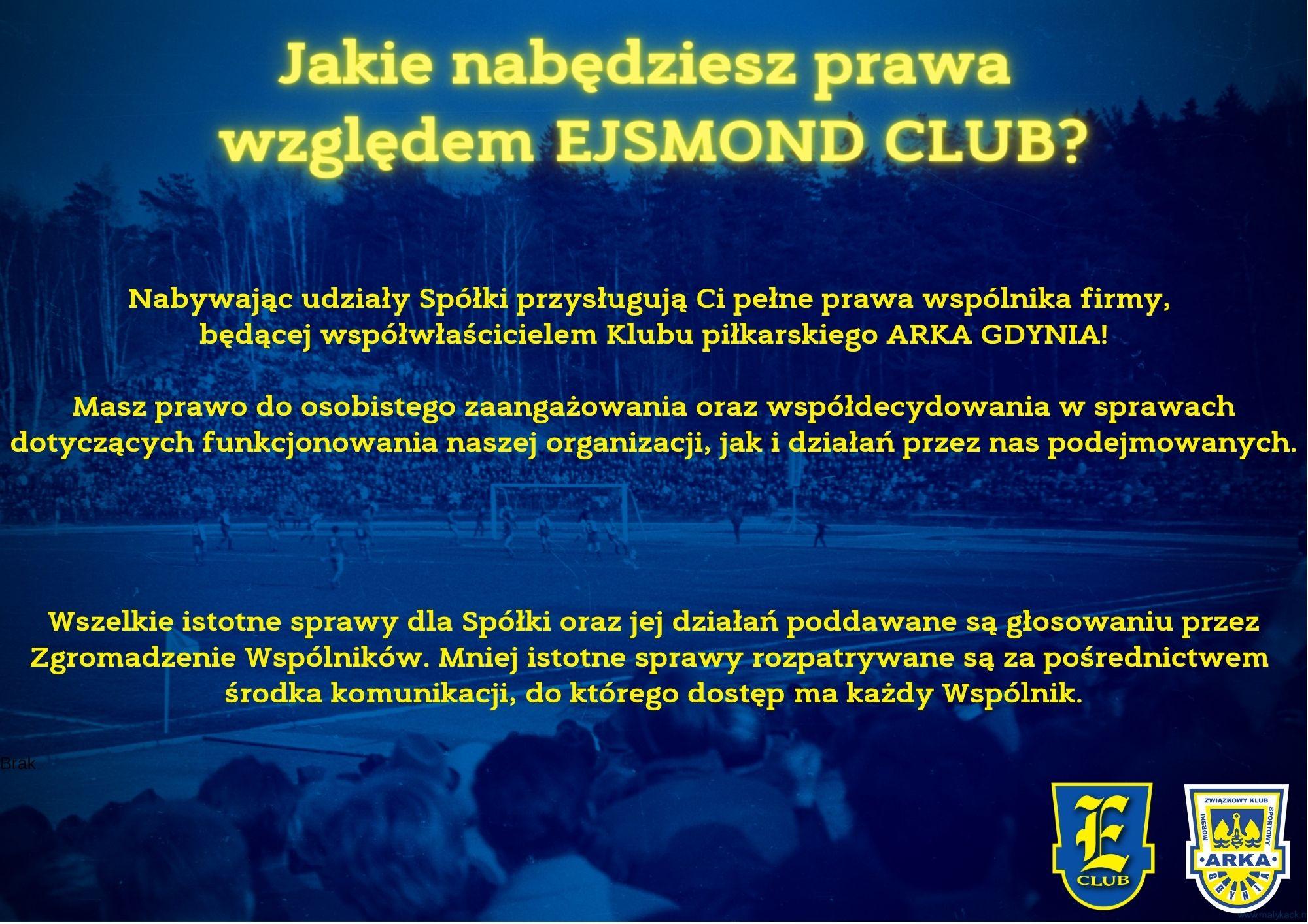 Wspólnik EJSMOND CLUB